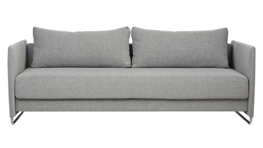 Tandom sleeper sofa in gray